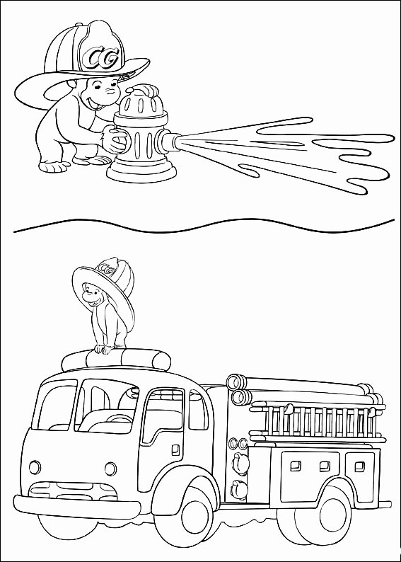 curious george coloring page fresh curious george coloring
