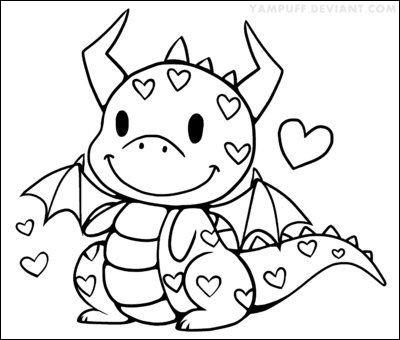 cute ba dragon coloring page new image cute dragon