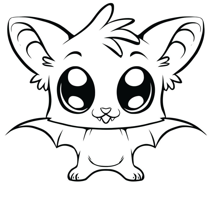 cute ba dragon coloring pages