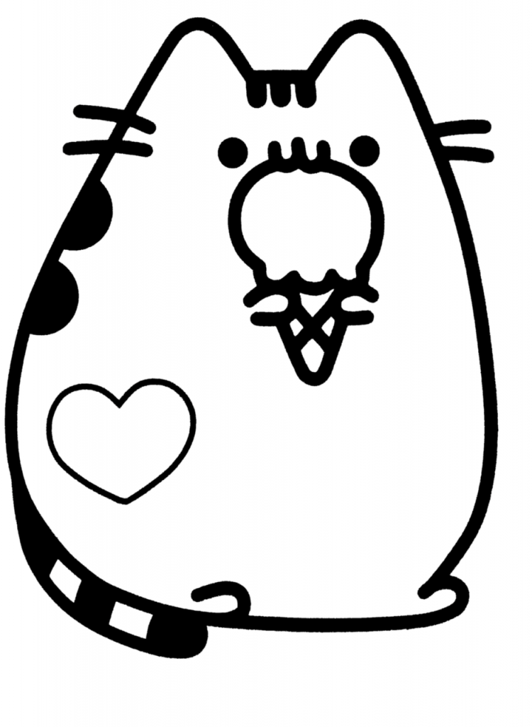 cute coloring pages pusheen coloring pages cute coloring