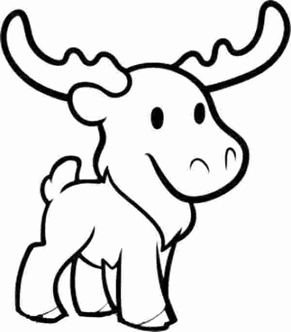 cute moose coloring pages kaigobank