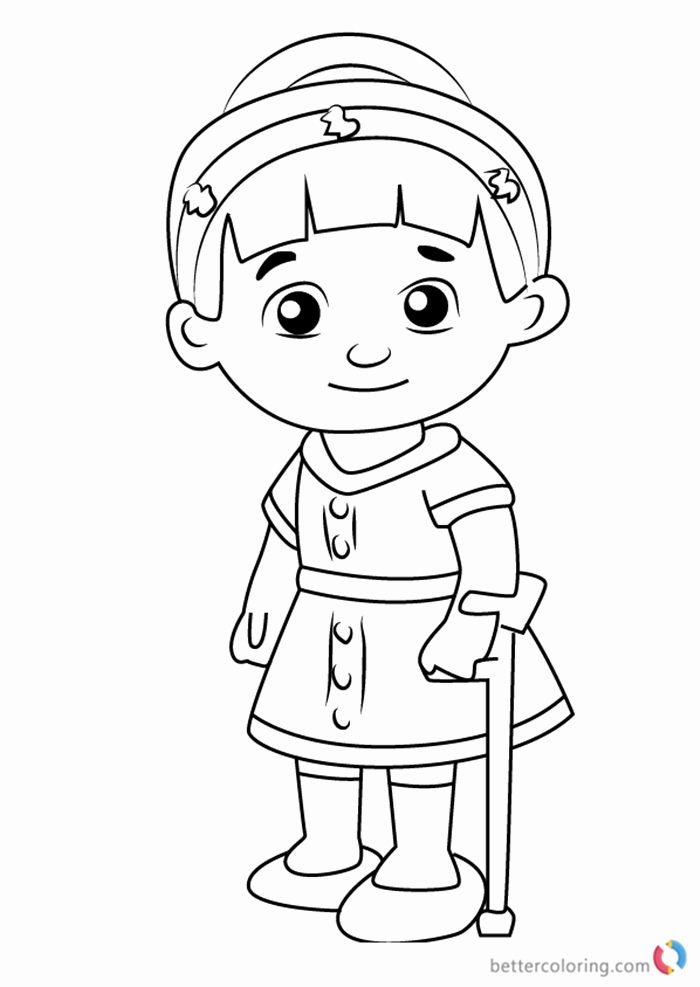 daniel tiger coloring page unique chrissie from daniel tiger