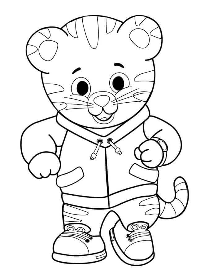 daniel tiger coloring pages to print