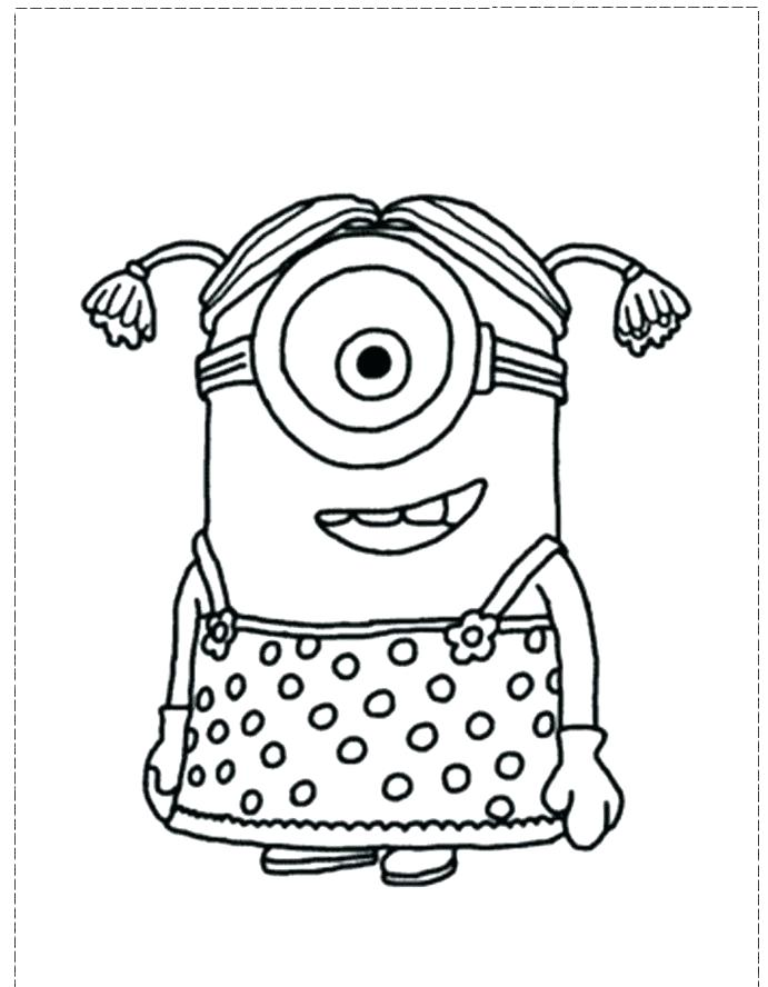 despicable me minion coloring pages printable minions
