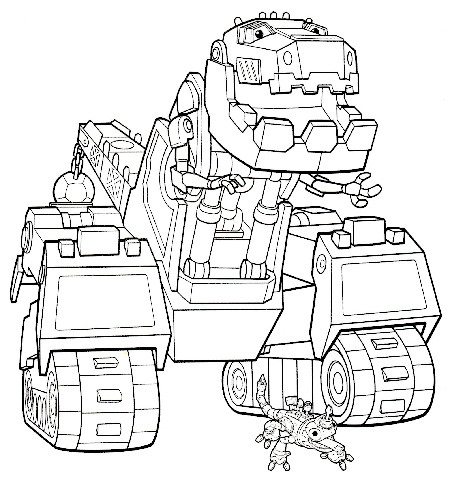 dinotrux coloring pages at getdrawings free for