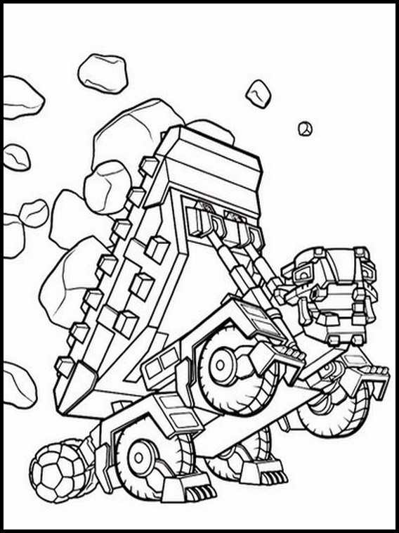 dinotrux colouring 6