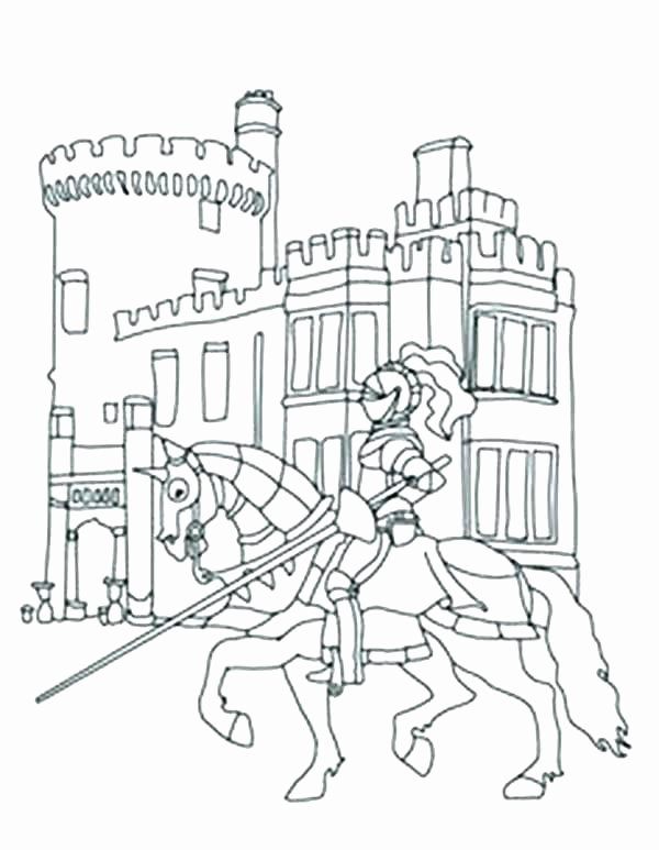 Castle Coloring Pages Ideas Whitesbelfast