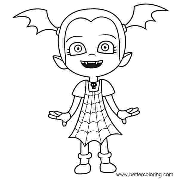 disney coloring pages vampirina vampirina coloring pages