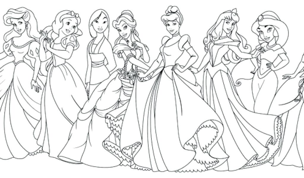 disney princess coloring pages for adults at getdrawings