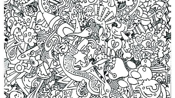 doodle art coloring pages for adults arpitbatra
