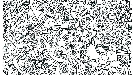 doodle art coloring pages for adults arpitbatra