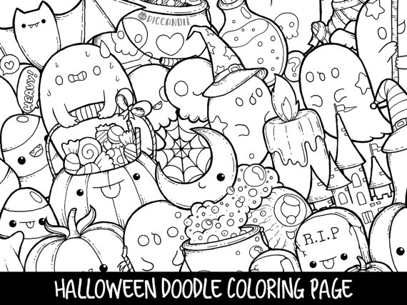 doodle coloring pages at getdrawings free for personal