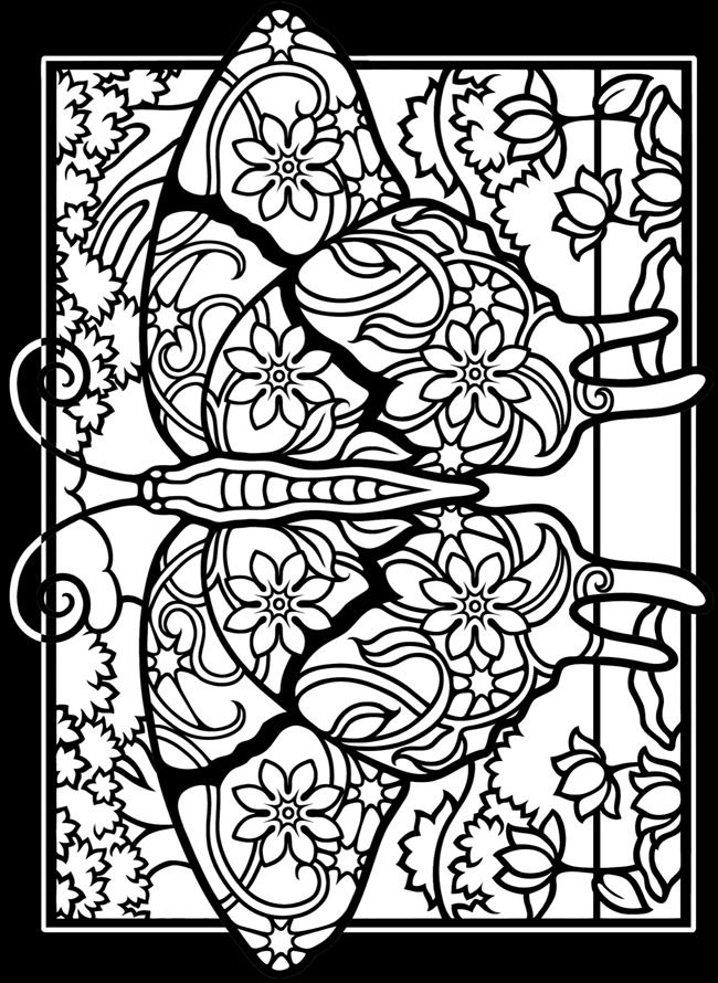 dover stained glass coloring pages coloring page 1 2