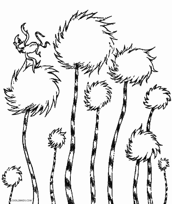 dr seuss coloring pages printable unique printable lorax