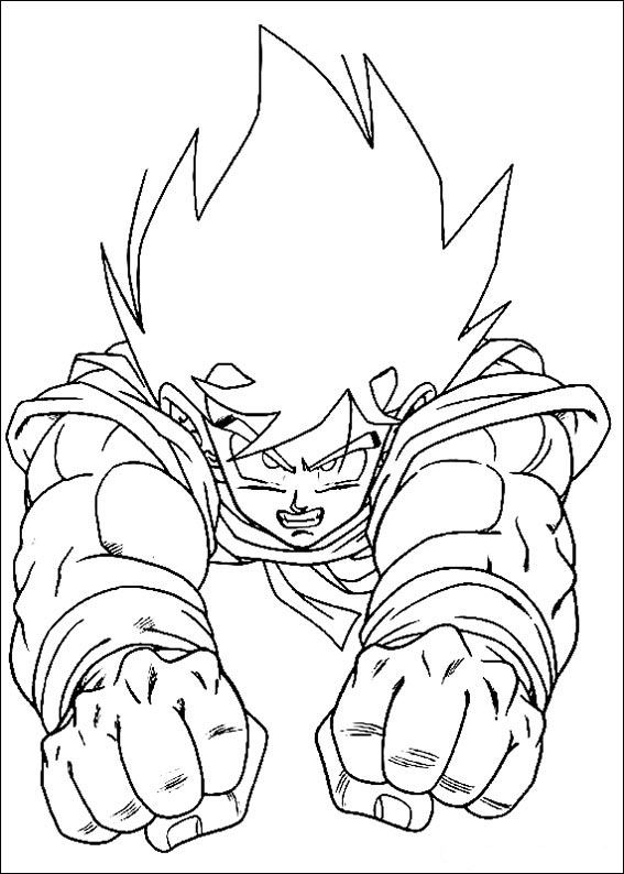 dragon ball coloring pages at getdrawings free for