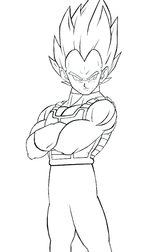 dragon ball super vegeta coloring pages berbagi ilmu