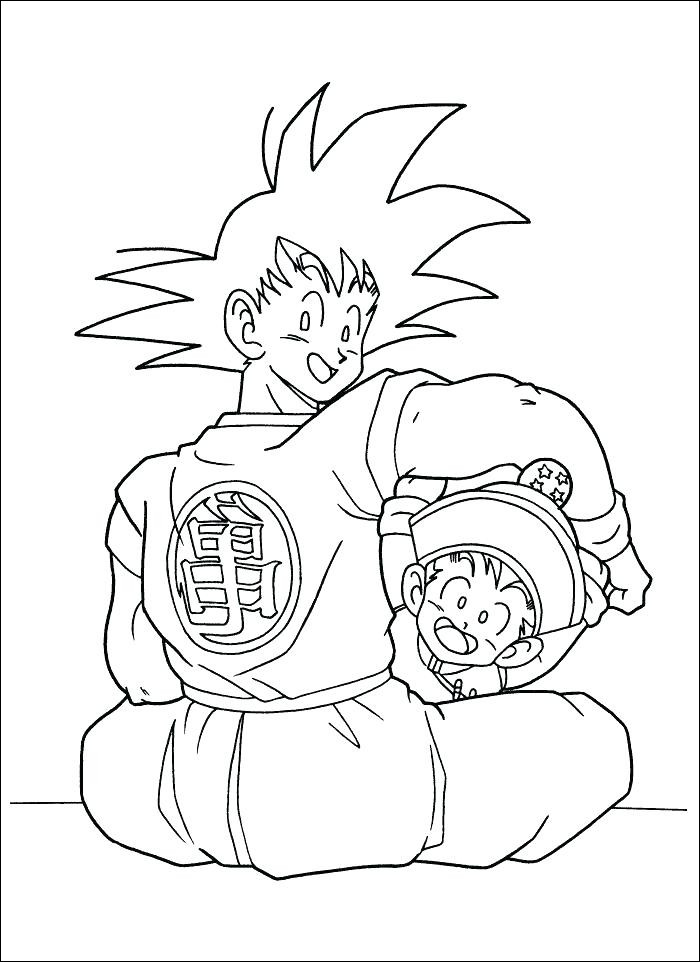 dragon ball z coloring page goku luxury gallery dragon ball