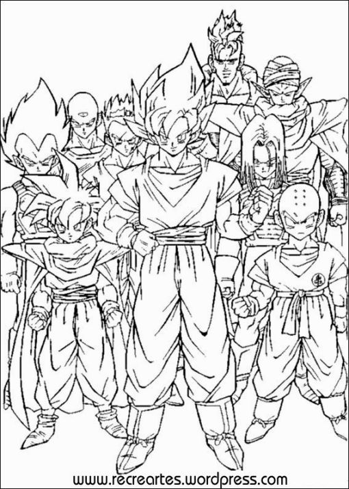 dragon ball z coloring pages printable dragon coloring
