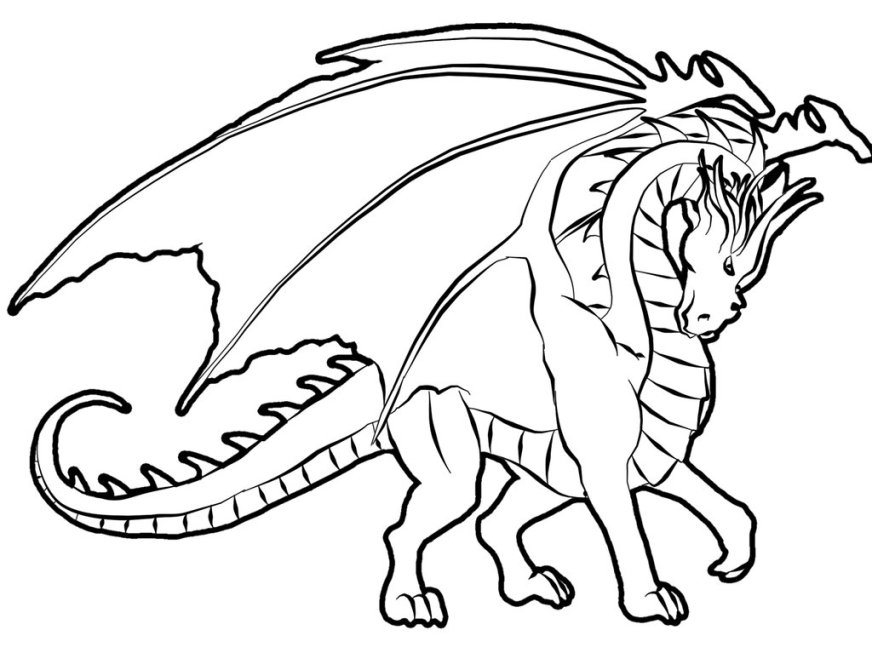 dragon characters page 2 printable coloring pages