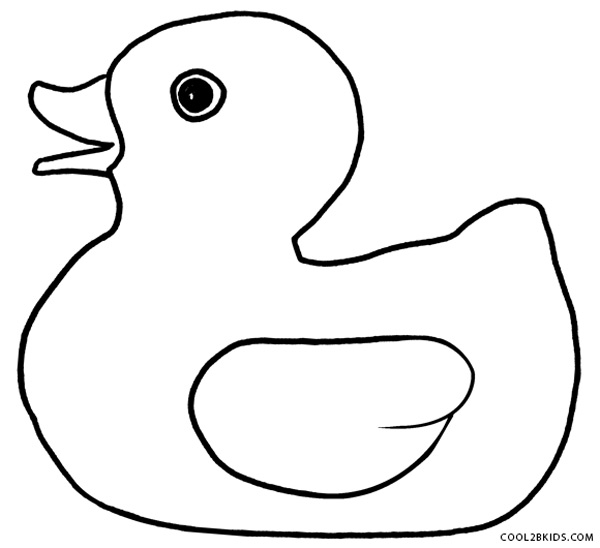 duck coloring pages the sun flower pages