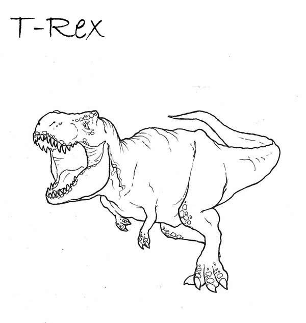 easy t rex coloring pages 6949 t rex coloring pages