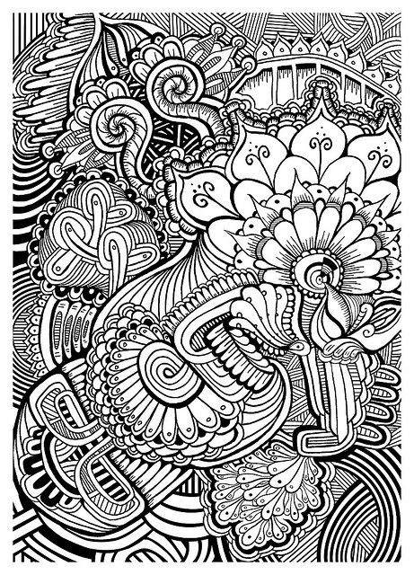 easy zentangle coloring pages beautiful zentangle patterns
