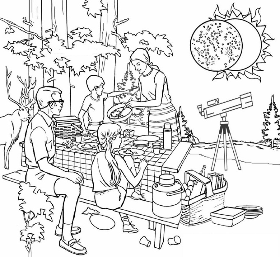 eclipse coloring pages printable shelter