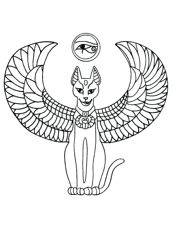 egypt flag coloring page at getdrawings free for