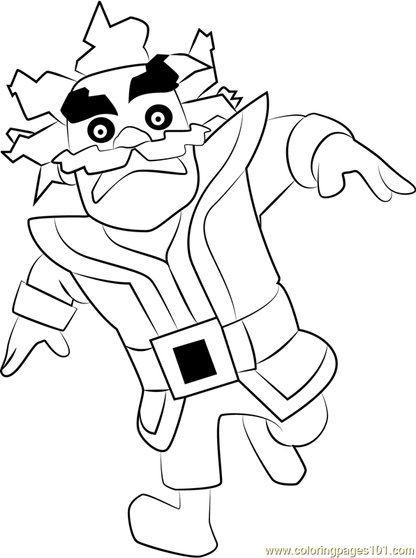 electro wizard coloring page free clash royale coloring