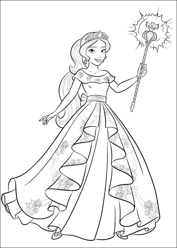 elena of avalor coloring book awesome photos elena of avalor