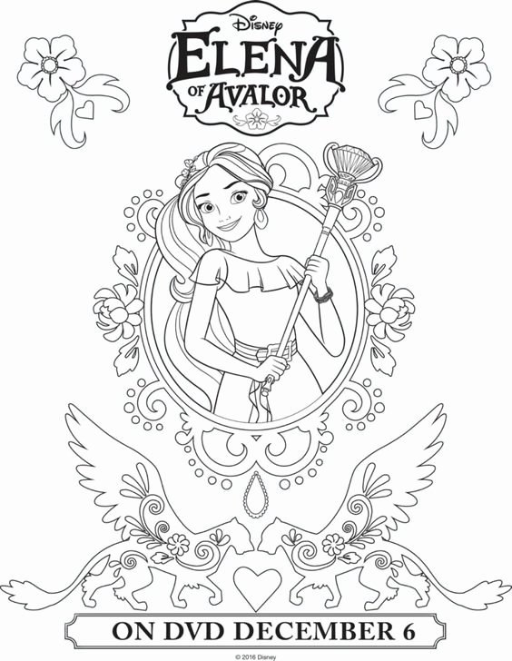 elena of avalor coloring page best of coloring page elena of