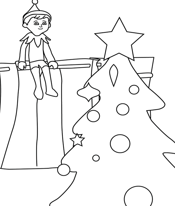 elf 39 characters printable coloring pages