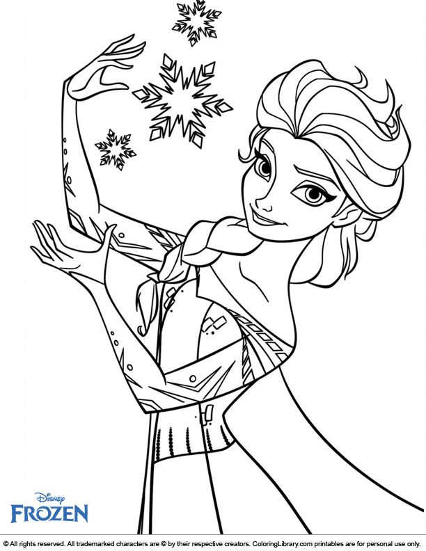 elsa frozen coloring page elsa coloring pages frozen