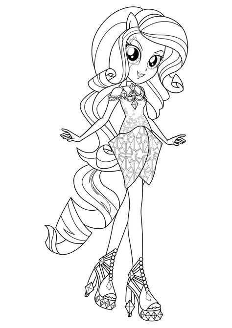 equestria girls coloring pages trang t mu
