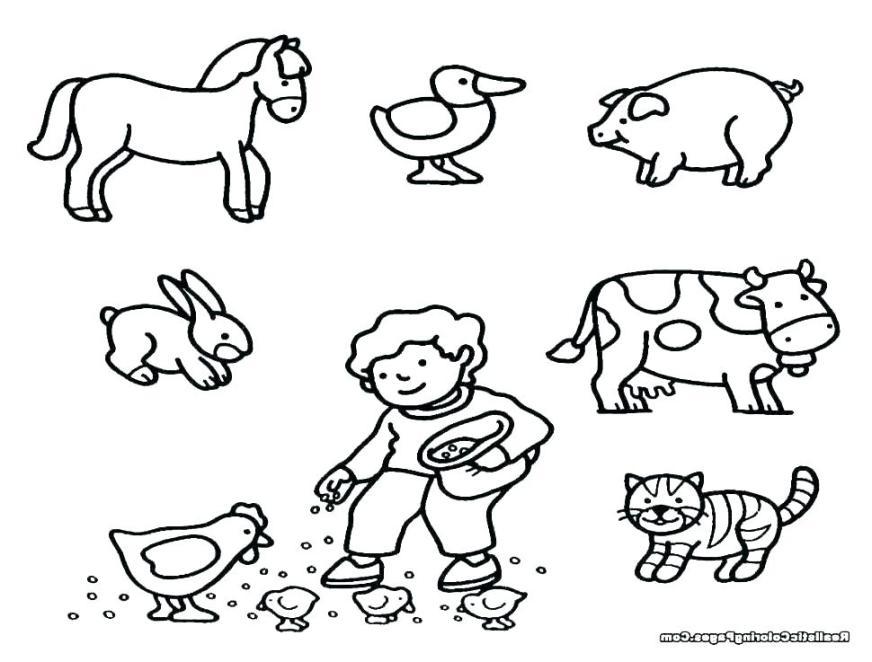 farm animal coloring sheets farm animal art activities for