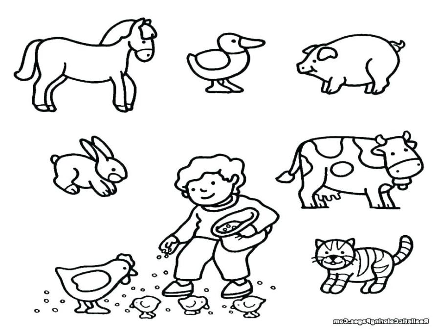 farm animal coloring sheets farm animal art activities for