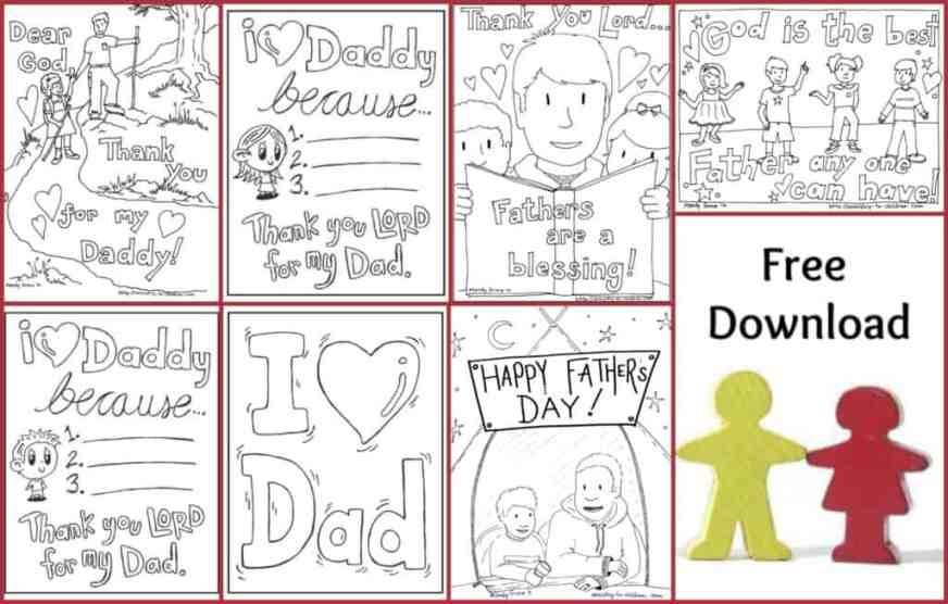 fathers day coloring pages 100 free easy print pdf