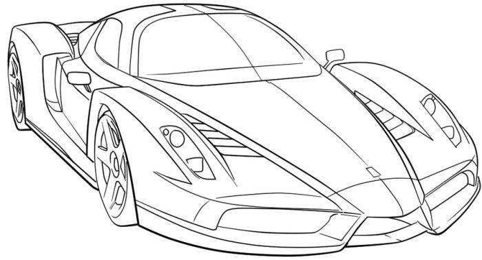 ferrari sport car high speed coloring page cars coloring