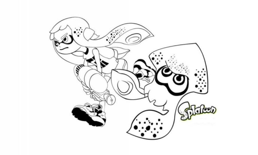 find inspiration about splatoon coloring pages 9575 for 5