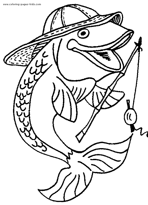 fish 68 animals printable coloring pages