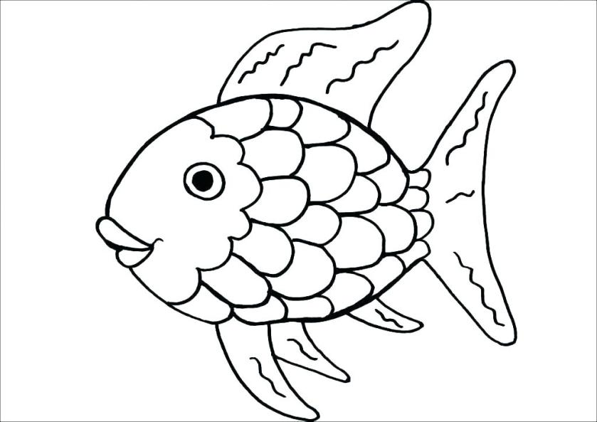 fish printable coloring pages tank ogadsclub
