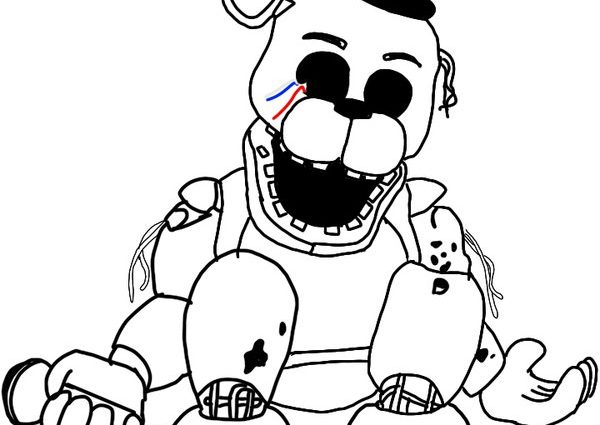 fnaf 2 coloring pages at getdrawings free for personal