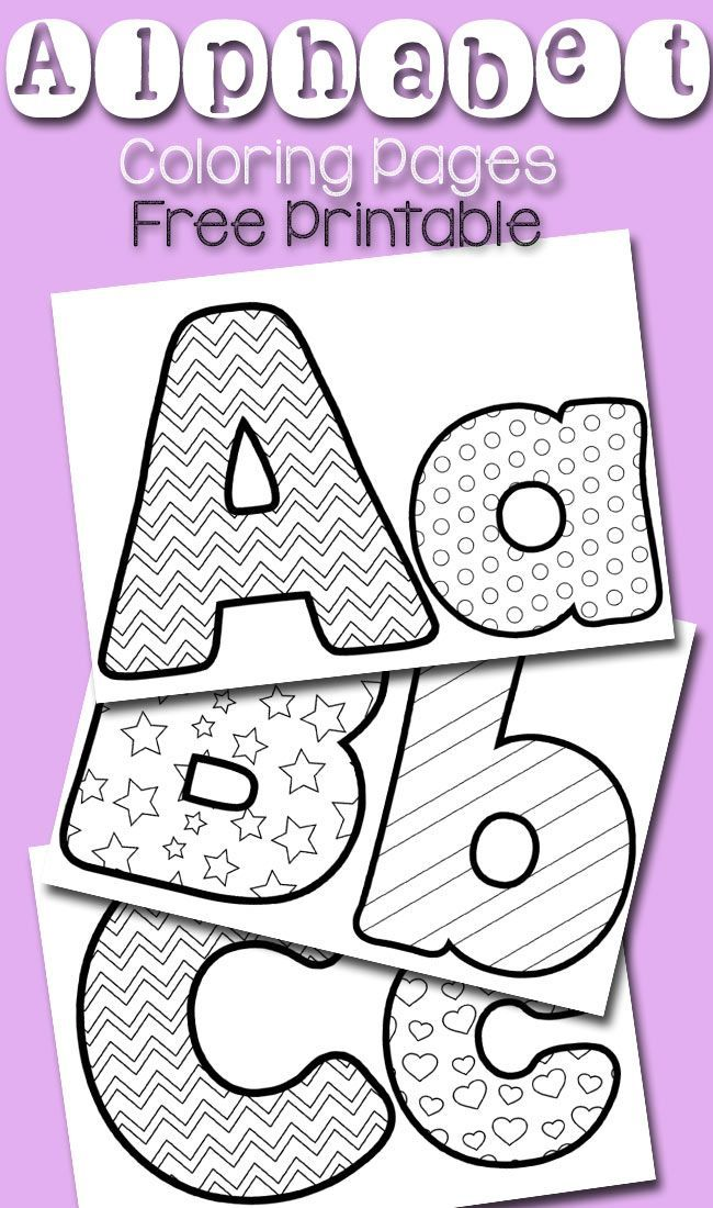 free alphabet coloring pages alphabet and letter