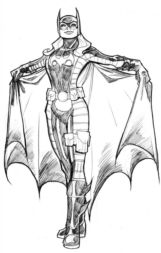 free batgirl coloring pages at getdrawings free for
