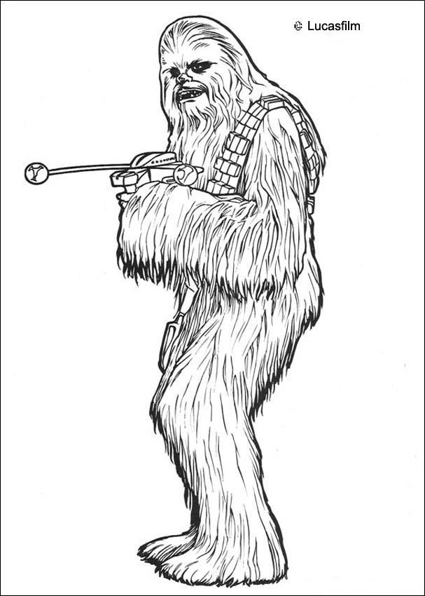 free chewbacca coloring page download free clip art free
