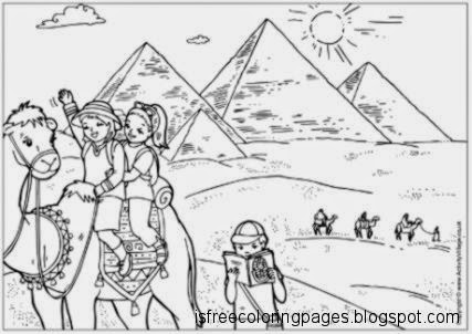 free coloring pages egypt coloring pages