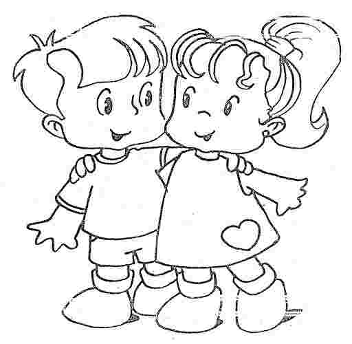 free coloring pages for friendship best friend coloring