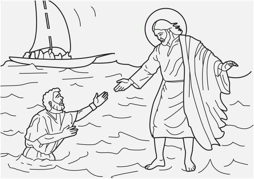 free coloring pages of jesus capture jesus walks water