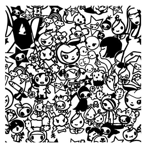 free coloring pages of tokidoki coloring pages coloring