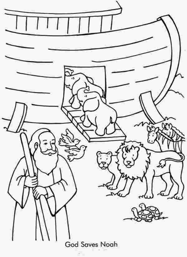 free colouring pages noahs ark noah ark coloring page 003